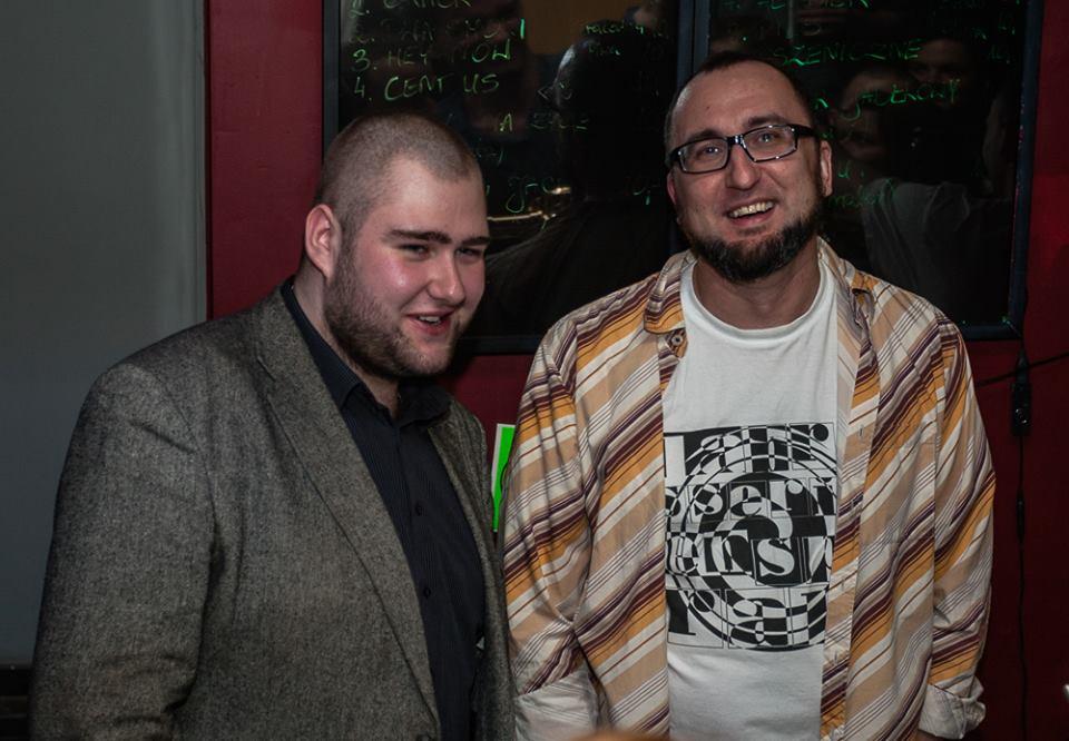 Gwiazdy wieczoru: Michał Puszkarczuk (z lewej) i Piotr Brzeziński.