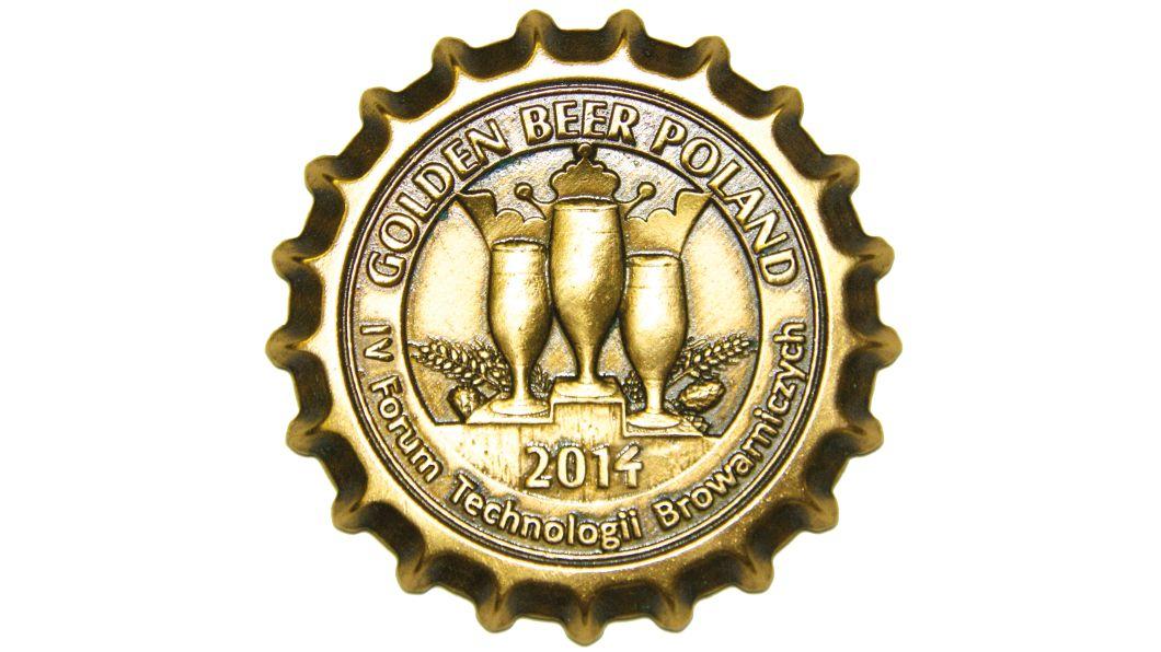 Złoty medal Golden Beer Poland